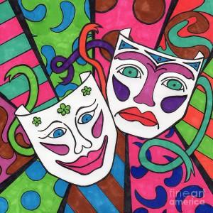 drama-masks-susan-cliett